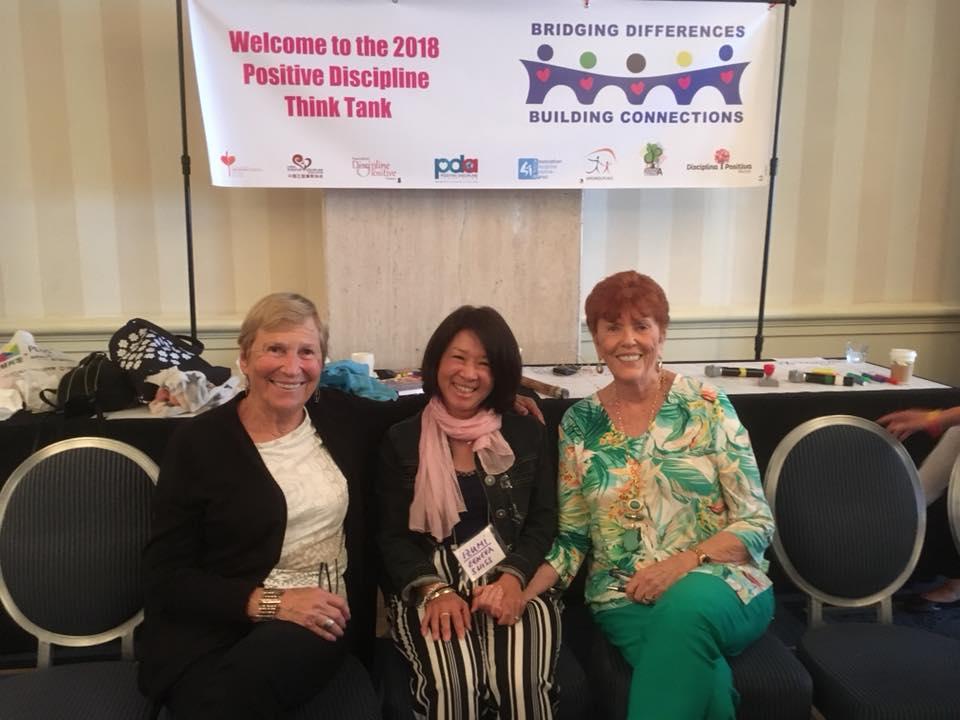 Lynn Lott, Izumi Takase and Jane Nelson