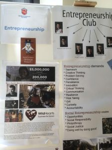 Positive Dicipline at the Geneva English School with Entrepreneurship Club